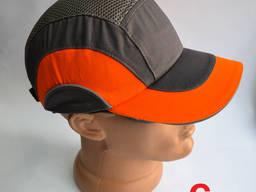 Каскетка робоча Sizam B-Cap (ABS EVA) сіро-помаранчева