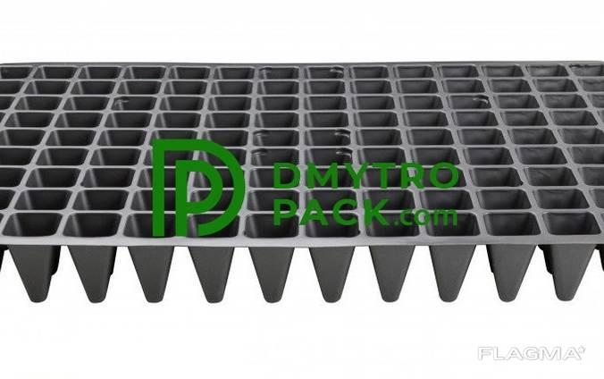 Кассеты для рассады 126 ячеек, плотность 650 мкм Standart