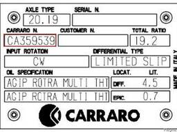 Каталог запчастей Carraro