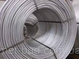 Катанка (проволока) стальная оцинкованная толщина 8 мм