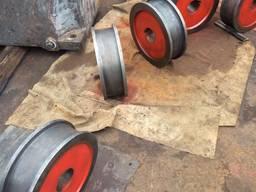 Каток , крановое колесо ( литье, механическая обработка )