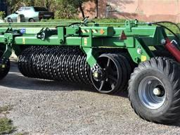 Каток зубчато-кольчатый (КЗК) Land Roller 12,5 м