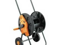 Катушка (тележка) с колесами для шланга вместимость до 60м.