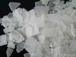 Каустическая сода гидроксид натрия, едкий нат Россия (чешуя)