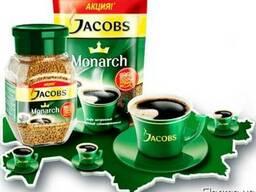 Кава Якобс Монарх 400г. Кофе Jacobs Monarch 400г. 300 100 г.