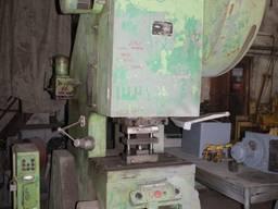 КД2328 пресс кривошипный с пневмомуфтой, усилие 63 т