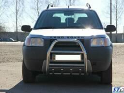 Кенгурятник QT007 (нерж. ) Land Rover Freelander I