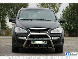 Кенгурятники и дуги Ssang Yong Actyon с 2006 г.