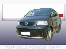 Кенгурятники и дуги Volkswagen Transporter T5 (Caravelle). ..