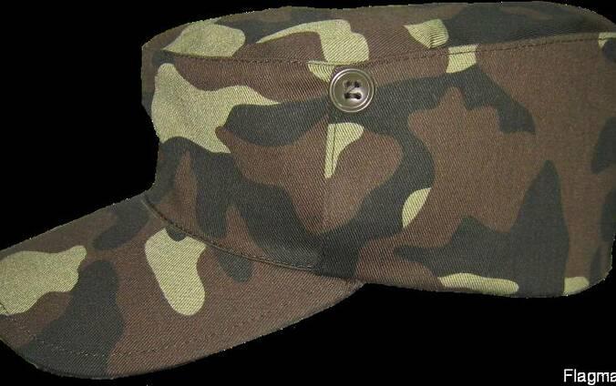 Кепка камуфлированная, военная, охранника, головные уборы