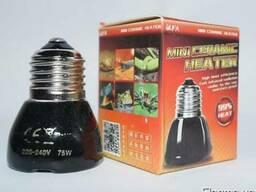 Керамическая инфракрасная лампа 75-200 ватт
