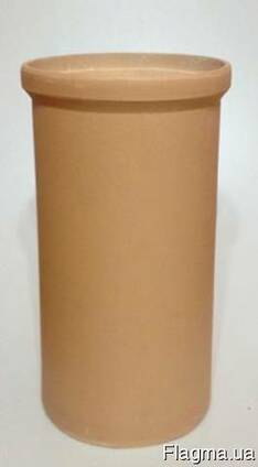 Керамическая труба огнеупорная(дымоход)168мм200мм