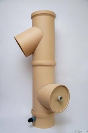 Керамические трубы для дымохода (печей и каминов)