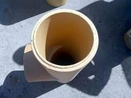 Керамические трубы для дымоходов HART (Германия)цена купить - фото 3