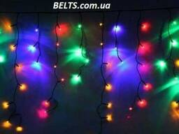 Киев.Гирлянда Бахрома 512 LED мультицветная (штора 3 метра,