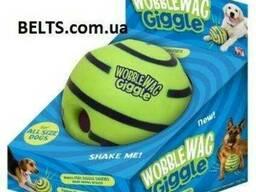 Хихикающий игрушка, мяч для собак Wobble Wag Giggle Ball ман