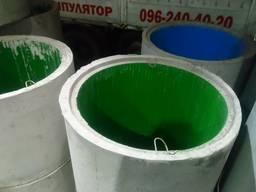 Кільце колодязя з ЄВРО з'єднанням та поліетиленовим вкладишем