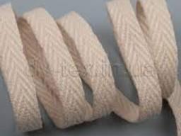 Киперная лента (х. б. ) ширина 1см, 2см / 40м темно-серый h(см)