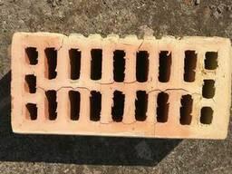 Кирпич керамический рядовой гладкий