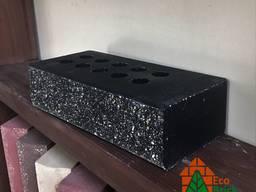 Кирпич облицовочный пустотелый Эко-Брик с фаской черный