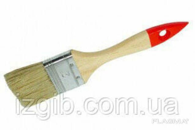 """Кисть флейцевая HT-Tools """"Стандарт"""", деревянная ручка 4"""""""
