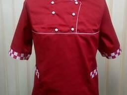 Поварская женская куртка