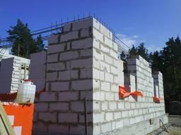 Кладка перегородки и стен