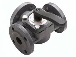Клапан чугунный трехходовой поворотный Danfoss HFE3 40 (065Z0431)