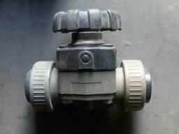Клапан мембранный ПВХ ду-50