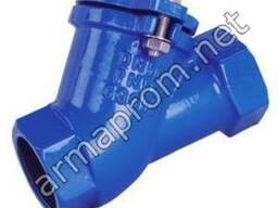Клапан обратный канализационный шаровой муфтовый