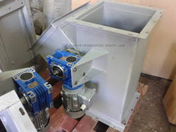Клапан перекидний 300*300 з відводом 45* s-3, 0 з МР 0, 18кВт