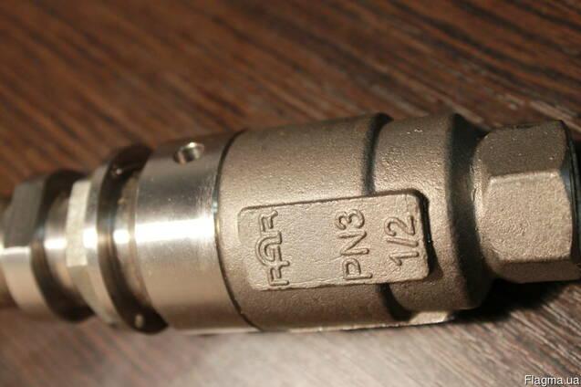 Клапан перепускной пружинный, нержавейка