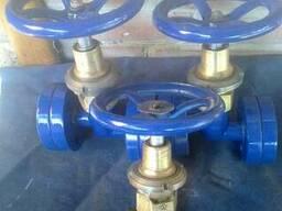 Клапан рамповый кислородный предохранительный КК 7643