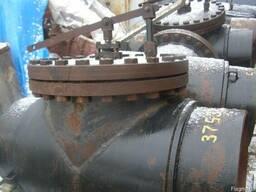Клапан регулирующий с рычажным приводом КРРП Ду600 Ру2,5МПа
