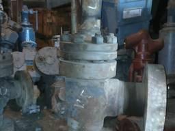 Клапан угловой фланцевый запорный 13лс963 Ду125 Рр400