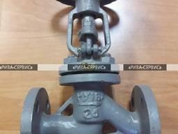 Вентиль стальной 15с27нж ду 25 ру 63 запорный сальниковый