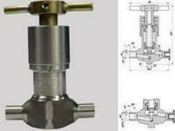 Клапан запірний сильфонний для АЕС, DN 10, DN 15, PN 200