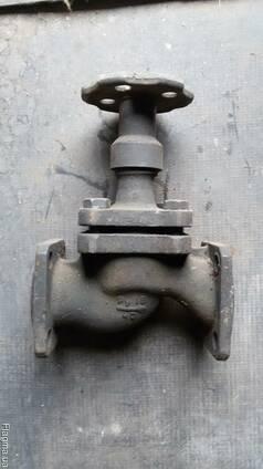 Клапан запорный фланцевый 15кч80п(15кч16п)