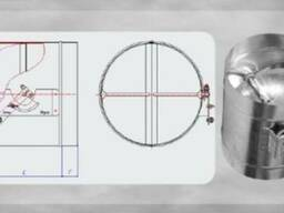 Клапани дросельні (дросель-клапани) круглого перерізу