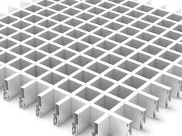 Потолок грильято Крафт ячейка 50х50 мм