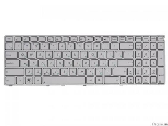 Клавиатура ASUS N61Jv K53SC White белая новая