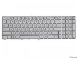 Клавиатура ASUS X75VB White белая новая