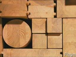 Клееносрощеный брус для строительства деревяных домов