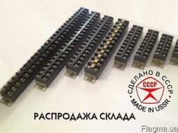 Клеммная колодка (клеммник) серии ЗН19 на 4-30 клемм.