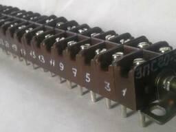 Клеммная колодка ЗПС 20-34 17пар (клемник)