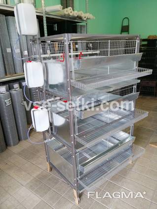 Универсальная разборная клетка для бройлеров и несушек
