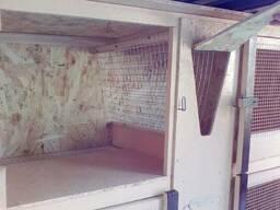 Клетка для кроликов, мини-ферма, шед