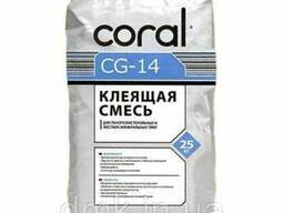 Клей армирующий CORAL CG-141 25 кг