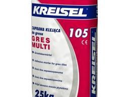 """Клей для керамогранита Kreisel (Крайзель) 105 """"Gres Multi"""","""
