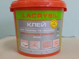 Клей для мозаики, плитки бежевый акриловый готовый lacrysil